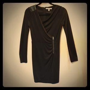 Cynthia Steffe Seamline Black Dress